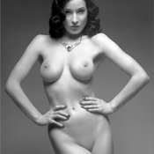 Dita Von Teese - awesome female with medium fake tittys photo