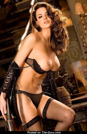 Image. Sexy nude wonderful lady with medium tots picture