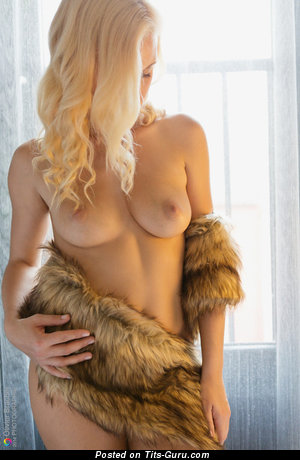 Image. Hot woman with medium natural tittes picture