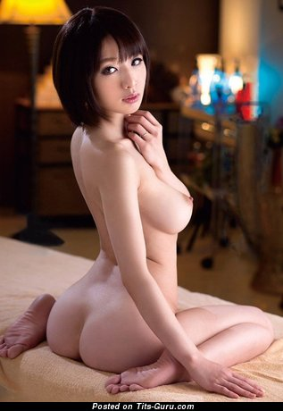 Naked asian with medium breast image
