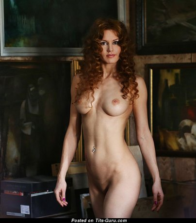 Image. Nude wonderful girl with natural tittys pic