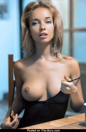 Adorable Babe with Adorable Nude Natural Titties (Hd 18+ Foto)