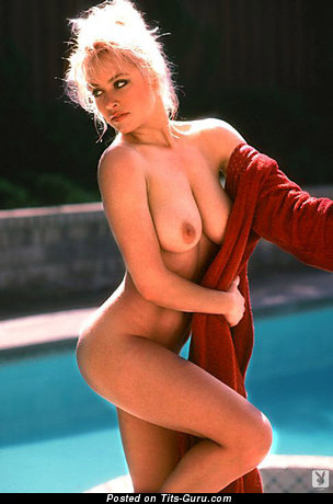 Image. Cher Butler - blonde with natural tits and big nipples vintage