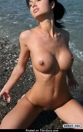 Image. Hot female with medium fake breast pic