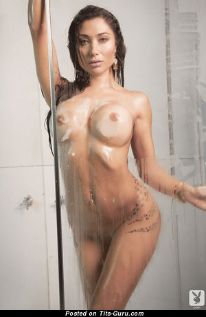 Belén Lavallén - Beautiful Latina Playboy Brunette Babe with Beautiful Exposed Soft Breasts (Sex Pic)