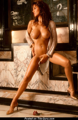 Jessica Hahn - Awesome American Playboy Brunette with Awesome Defenseless D Size Breasts (Porn Foto)