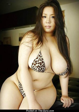 Image. Hot girl with huge natural breast pic