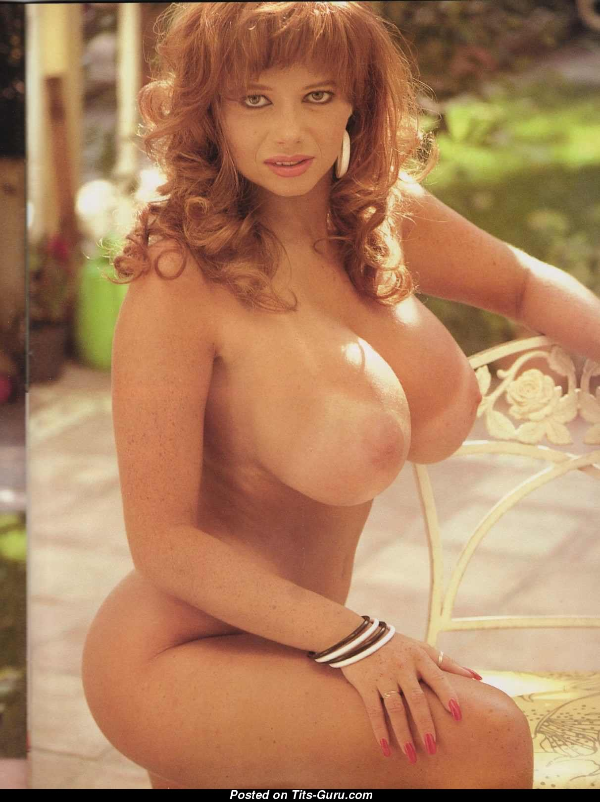 from Lennon vintage big tits topless