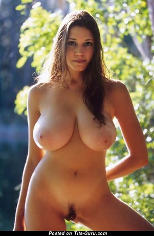 Image. Nude awesome female with huge natural boobies photo