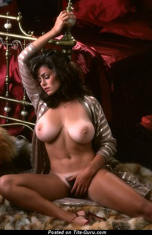 Image. Karen Price - beautiful female with natural breast image