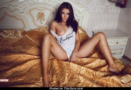 Image. Sexy brunette image