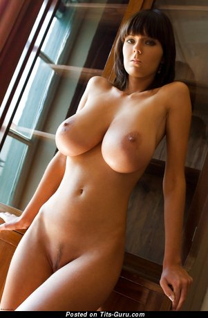 Image. Nude wonderful female with big natural boob pic