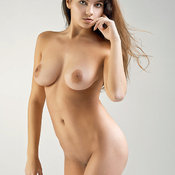 Amazing lady with big natural tittys pic