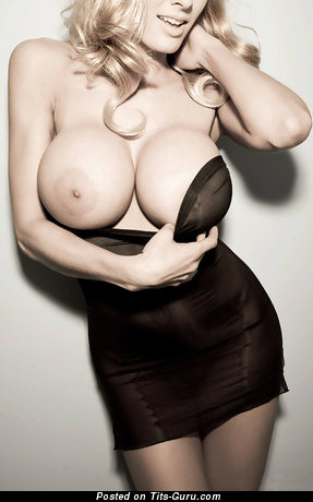 Image. Naked awesome lady with huge fake boobies pic