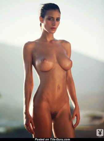 Alejandra Guilmant - Awesome Mexican Playboy Babe with Awesome Bald Mid Size Jugs (Hd Sex Photo)