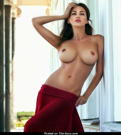 Nude awesome woman with big tits image