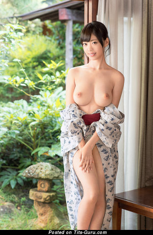 Nice Topless Asian Honey with Fine Bald Natural C Size Hooters (Hd Xxx Photoshoot)