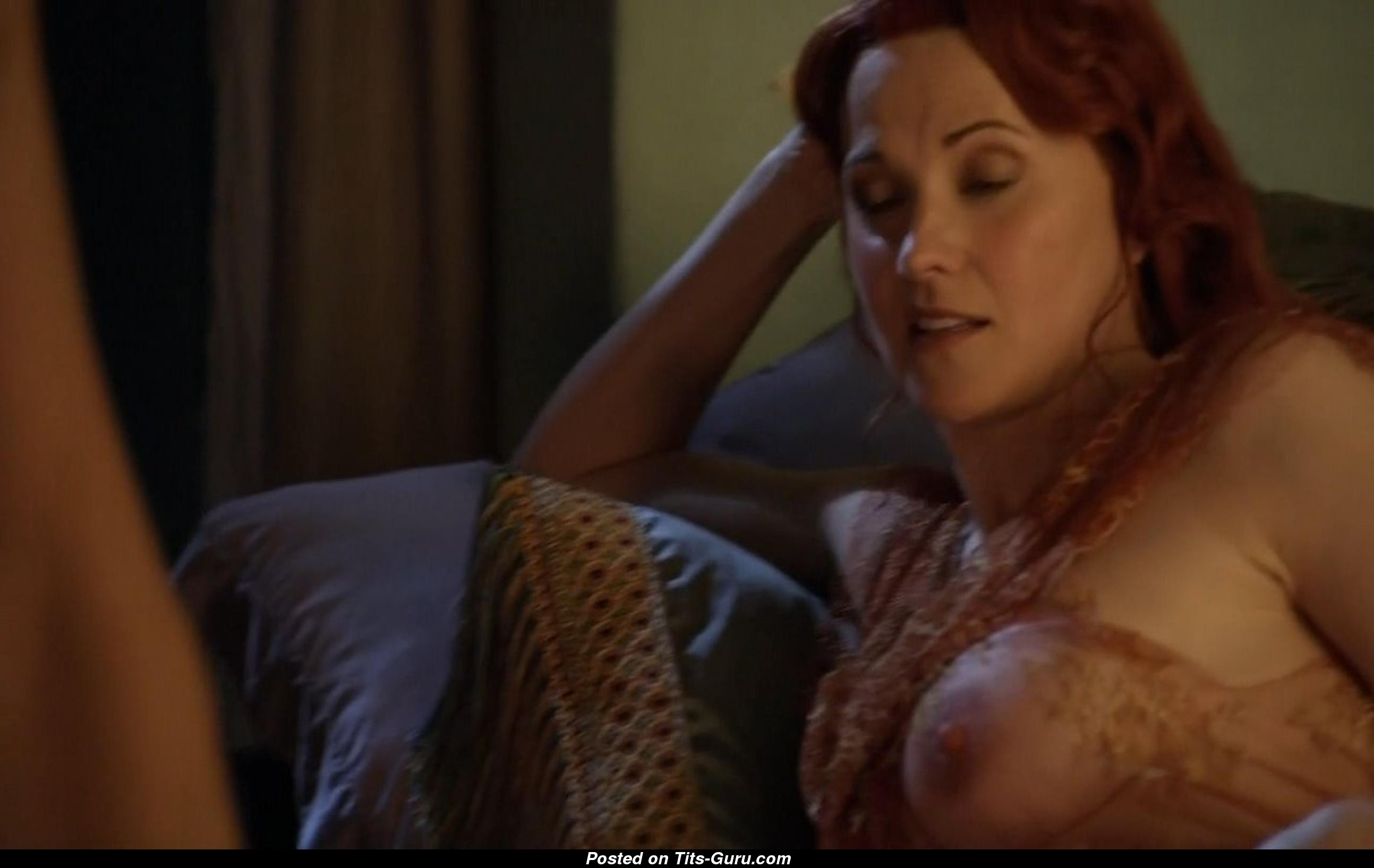 Lucy Lawless Naked Asian Blonde With Medium Breast Photo