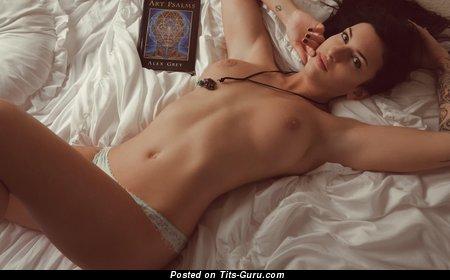 Image. Ripley - nude beautiful woman with medium natural breast photo