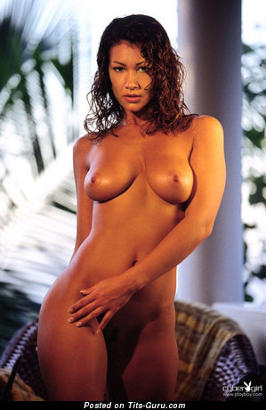 Image. Alica Burley - sexy naked brunette with big tots picture