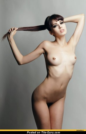 Image. Naked awesome girl with small natural tittes photo