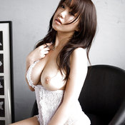 Asian with big natural breast picture