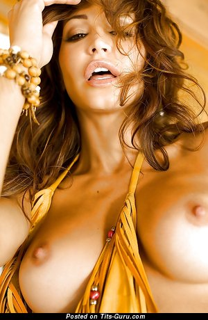 Angela Taylor - nude nice woman with big fake breast photo