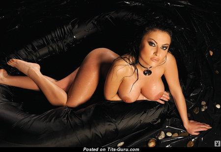 Liliana Angelova - Gorgeous Naked Playboy Brunette Babe (Xxx Photo)