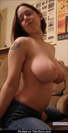 Image. Naked nice lady with big boob pic