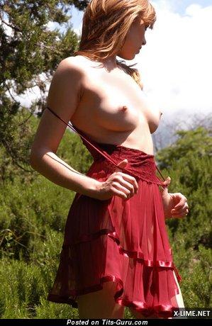 Image. Naked nice woman with natural boob image