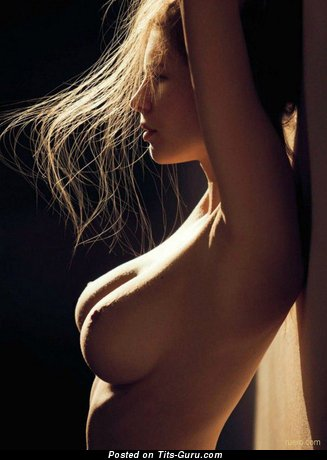 Image. Nude nice female with big natural tots picture