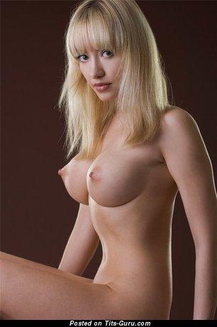 Beautiful Chick with Beautiful Bald Round Fake G Size Boob (Sexual Photoshoot)