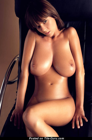 Image. Sexy naked beautiful girl with big natural breast picture