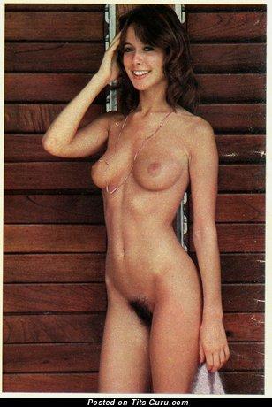 Jane Warner - Stunning British Red Hair Babe with Elegant Exposed Natural Melons (Vintage Hd Sex Pix)