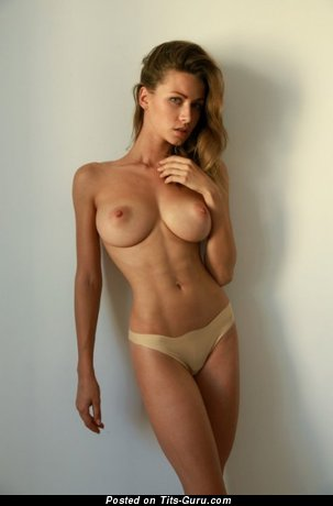 Grand Woman with Grand Nude Natural Mega Melons (Sex Picture)