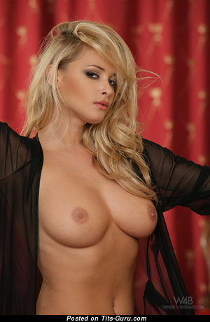 Zdenka Podkapova - Alluring Czech Blonde with Alluring Naked Real Normal Knockers (Hd 18+ Pic)