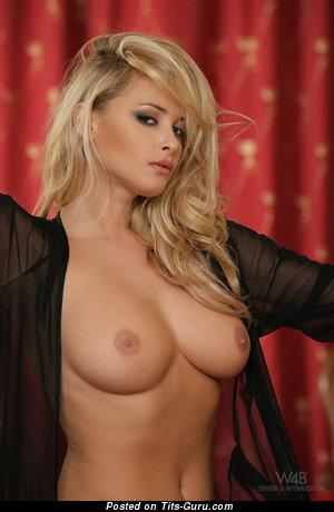 Zdenka Podkapova - naked blonde with medium natural tittys picture