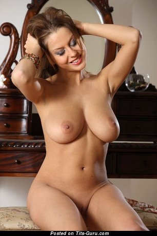 Image. Naked amazing female with big natural boob photo
