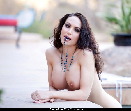 Image. Nude amazing female with natural breast image