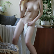 Amazing female with medium natural tits photo