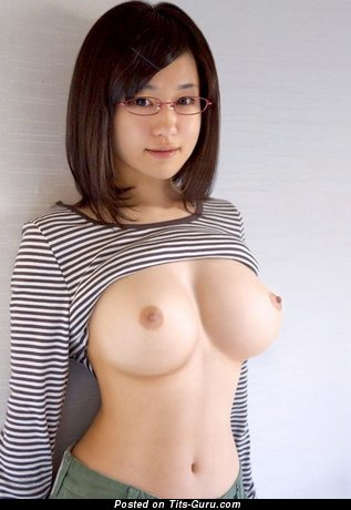 Image. Sexy amateur nude asian with medium tots image
