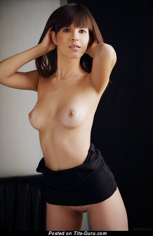 Image. Nude hot girl with medium natural boobs image