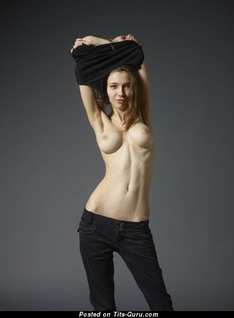 Image. Milla W - naked wonderful female with big natural tittes photo
