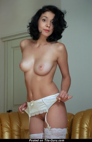 Image. Naked beautiful woman with natural tittes image
