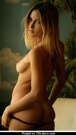 Yummy Topless Blonde Babe with Erect Nipples (Hd Xxx Pix)