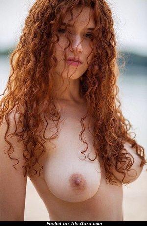 Heidi Romanova - Pleasing Latvian Babe & Pornstar with Pleasing Exposed C Size Tit (Hd Porn Photoshoot)