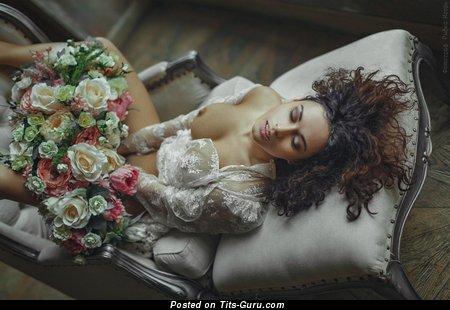 Анастасия Шпиц - Alluring Unclothed Babe (Hd Porn Foto)