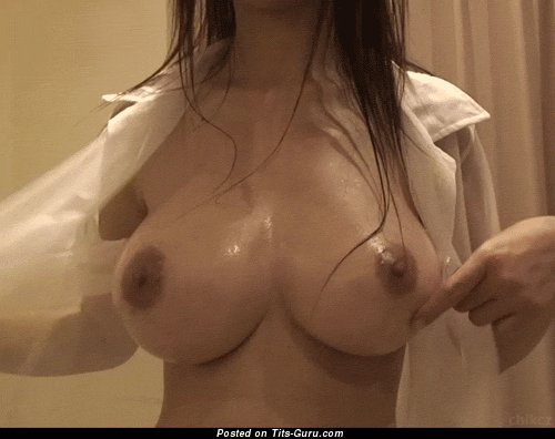 Image. Wet nude wonderful woman with big natural tittes gif