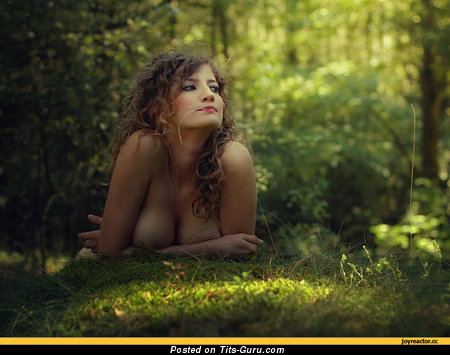 Image. Wonderful woman with big natural tittes pic