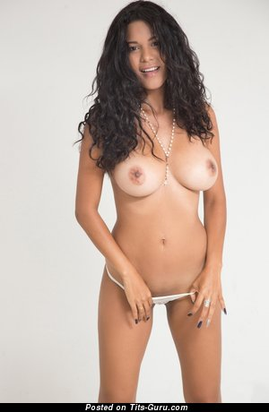 Image. Kendra Roll - brunette with big natural tittes photo